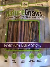 """Extra Thin Bully Sticks 5-6"""" - 100% Natural Beef Chew Treats for Small Dogs"""