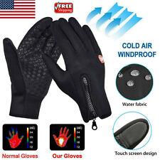 Unisex Winter Waterproof Touch Screen Gloves Outdoor Warm Thermal Sport Mittens