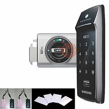 4RFID Card Key+4Key Tag+SAMSUNG SHS-2320 digital door lock keyless touchpad EZON