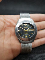 USED Vintage Orient Crystal 3 star Automatic 21 Jewels Men's Watch