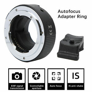 NF‑NEX‑AF Auto Focus Adapter Ring for Nikon F Mount to for Sony E Mount Camera