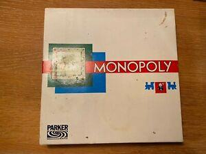 MONOPOLY weiße Schachtel Parker Schmidt DM alte Deutsche Mark Version KOMPLETT