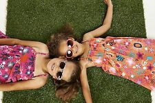 """BNWT """"ME TOO"""" GIRLS COTTON STRAPS FLORAL  PRINT DRESS from DENMARK, AGE 4 YERS"""