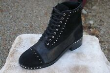 Mercer Edit Cassidey Studded Cap Toe Bootie Size 7.5]