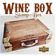 Wine Stomp box drums box machine foot stomp box by Robert Matteacci
