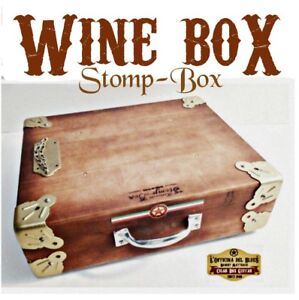 John Lee hooker Wine Stomp box drums box machine foot stomp box Robert Matteacci