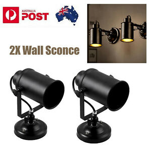 2x Wall Sconce Wall Lights Vintage Retro Industrial NEW Rustic Sconce Porch Lamp