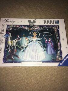 Ravensburger 19678 Disney Cinderella 1000 Piece Jigsaw Puzzle Brand new