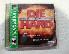 Die Hard Trilogy (Sony PlayStation 1, 1997) Ps1 Complete Polished/Tested/Works