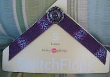 Lindsay Phillips Switchflops Kimber Straps Small New 5 - 6 Purple