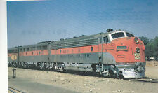 Western Pacific Locomotive #805-D San Jose Ca 1970 view Postcard Train 9224