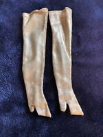 Vintage Barbie Clothes - MOD Era Barbie 1486 Winter Wow Gold Boots
