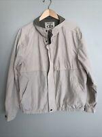 Pacific Trail Jacket Interior Pocket Fleece Lining Full Zip Khaki Men's Sz XL