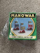 Warhammer hombre o Guerra orco drillakillas Box Games Workshop Nuevo En Caja