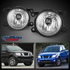 Fit Nissan Frontier 05-19 Clear Lens Pair Bumper Fog Light Lamp OE Replacement