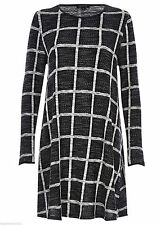 River Island Checked Long Sleeve Dresses for Women