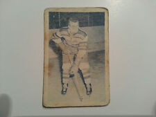 1952-53 Junior Blue Tint - Jean-Jacques Pichette #72 -  Quebec Citadels