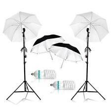 1250W Photography Studio Continuous Translucent Umbrella Lighting Stand Kit