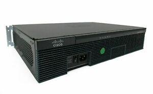 Cisco 2911 Gigabit Router CISCO2911/K9 v07 Integrated Services VIC2-4FX0 2900