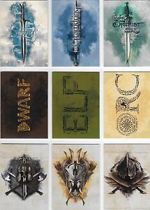 The Hobbit - Battle of Five Armies : Weapons W1 - W9