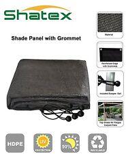 1x Shatex 90% UV Block Outdoor Sunscreen Shade Panel,Taped edge w/Grommet12x12ft
