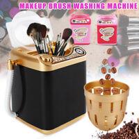 Mini Multifunction Washing Machine Cute Kids Toy Makeup Sponge Brushes Washer