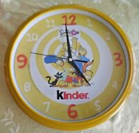 Los Simpson La Pelicula -The Simpson's The Movie Kinder Advertising Clock 2007