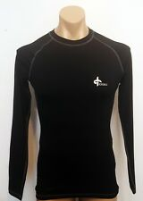Cross Compression Long Sleeve Top - Size Mens Small - Black - New!