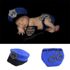 Newborn Baby Crochet Knit Clothes Photo Photography Prop Costume Hat