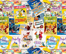 FAT QUARTER DISNEY FABRIC POSTERS THE GREATEST STORY EVER TOLD SPRINGS COTTON FQ