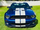 2008 Ford Mustang 2008 SHELBY GT500 ONLY 380 ORIGINAL MILES ORIGINAL OWNER 2008 Ford Mustang Coupe Blue RWD Manual