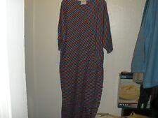 "VERY RARE Clovis Ruffin Inverted Wedge Dress-Groovy/Vinyl-60"" Bust-Acrylic-VGUC"