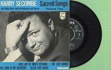 SECOMBE / Sacred Songs Vol-2 / PHILIPS BBE 12393 Pres England 1960 EP EX
