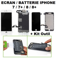 ECRAN COMPLET LCD IPHONE 7/7+/8/8+ ET/OU BATTERIE IPHONE 7 7 PLUS 8 8 PLUS OUTIL
