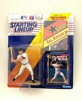 1992 Starting Lineup Figure SLU MLB Cal Ripken Jr. Baltimore Orioles w/Poster