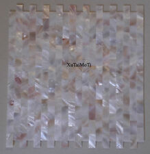 11PCS Groutless brick mother of pearl shell mosaic pink yellow kitchen wall tile