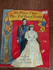 The Princess Diana Paper Doll Book of Fashion 1982 Uncut