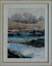 Akademischer Maler Wilhelm Karl Johann Dräger 1894-1969,Moorlandschaft Artprice