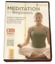 Meditation for Beginners (DVD, 2012) (3 workouts on 1 DVD) Free Shipping