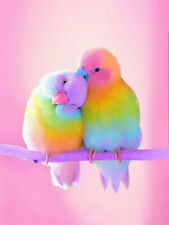 Full Drill Love Birds 5D Diamond Painting Animal Cross Stitch Embroidery Crafts