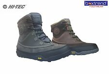 NEW MENS LEATHER HI TEC NORSE WATERPROOF SNOW BOOTS WINTER THERMAL BOOTS TREK