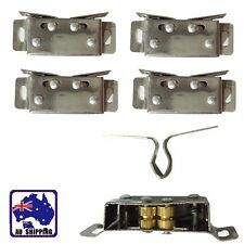 4pcs Stainless Steel Door Catch Touch Beads Cabinet Cupboard Latch HCOC52522x4