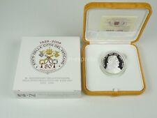*** 10 EURO Gedenkmünze VATIKAN 2009 80 Jahr Staat der Vatikanstadt Coin Silber