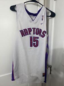 Vintage Authentic Nike Vince Carter Toronto Raptors Swingman NBA Jersey Sz M +2