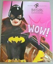 2008 Barbie Collector Batgirl Wow! revista de otoño