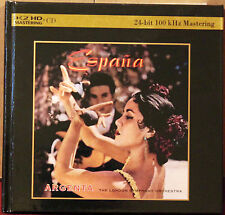DECCA Universal K2HD CD 480-411-3: Espana - ARGENTA LSO - 2011 JAPAN OOP NM