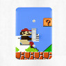 Super Mario Bros Bathroom Light Switch Cover Plate Duplex Outlet Video Games New