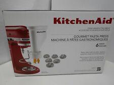 KitchenAid Gourmet Pasta Press Attachment, 6 Discs, New