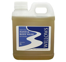 LIQUID CASTILE SOAP HAND & BODY WASH BLEND UNSCENTED 100% NAT. 1 L