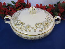 "KENT PRELUDE Round Covered Vegetable Bowl  8 1/4"" JAPAN"